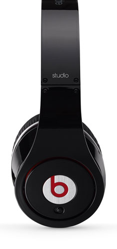 Beats Studio Over-Ear Headphones Side View