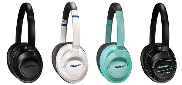 Bose SoundTrue Around-Ear Headphones in 4 Colors