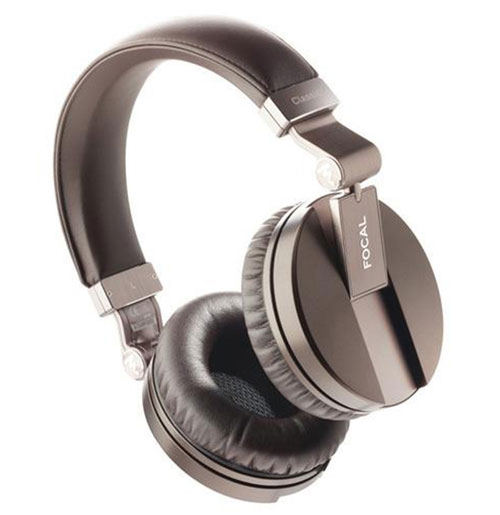 "Focal Spirit Classic Headphones In ""Hot Chocolate"""