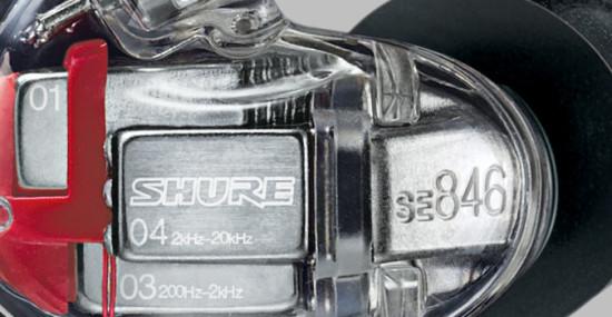 Shure SE846 close up